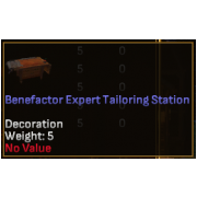Benefactor Expert Level Crafting Station - Tailoring