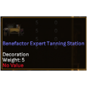 Benefactor Expert Level Crafting Station - Tanning