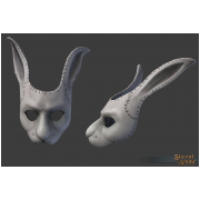 White Lepus Mask 2015