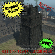 Obsidian Tower Village Home (digital)