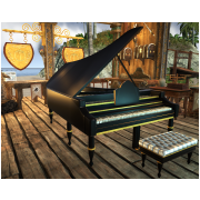 Grand Piano by Kaffius Forgius