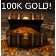 100,000 In Game GOLD!