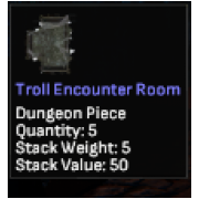 troll encounter dongeon room rare in sales