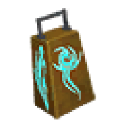Cowbell of reaping music instrument
