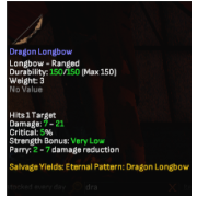 dragon longbow