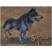 Obsidian Wolf (Tamed)
