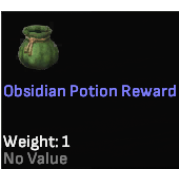 Obsidian Potion Reward