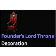 Founder's Lord Throne
