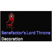Benefactor's Lord Throne