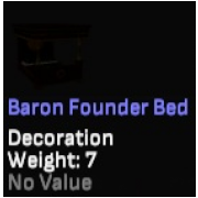 Baron Founder Bed