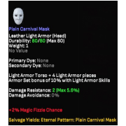 Pain Carnival Mask