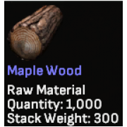 Maple Wood x1000