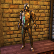 Copper Clockwork Armor Set