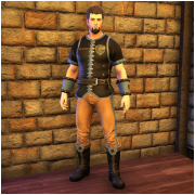 Founder's Leather Armor Set
