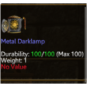 Metal DarkLamp