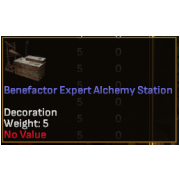Benefactor Expert Level Crafting Station - Alchemy