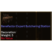 Benefactor Expert Level Crafting Station - Butchering