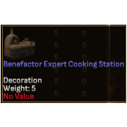 Benefactor Expert Level Crafting Station - Cooking