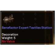 Benefactor Expert Level Crafting Station - Textiles