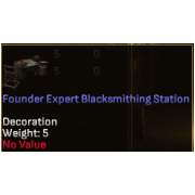 Founder Expert Blacksmithing Station