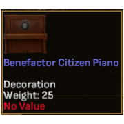 Benefactor Citizen Piano