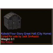 Kobold Four-Story Great Hall (City Home)