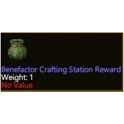 Benefactor Expert Level Crafting Station (bagged)