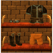Founder Leather Armor Set