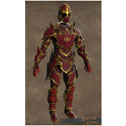 VIRTUE FLAME ARMOUR (Leather) OUTFIT
