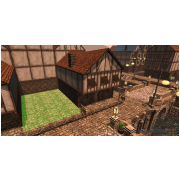 Player Owned Town Row Lot Property Deed