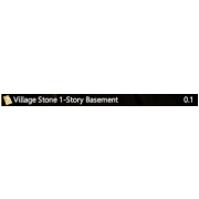 Village Stone 1-Story Basement