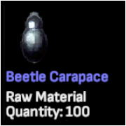 Beetle Carapace x 50