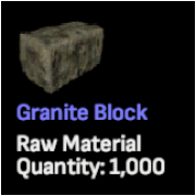 Granite Blocks x 2,500