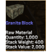 1000 Granite Blocks