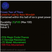 Frozen Tear of Titans