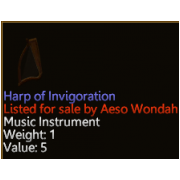 Harp of Invigoration