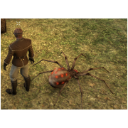 Tamed Pet: Large Red Spider