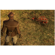 Tamed Pet: Small Red Spider
