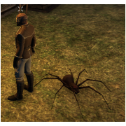 Tamed Pet: Small Brown Spider