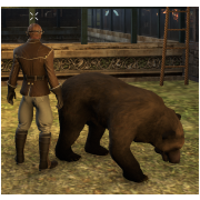 Tamed Pet: Large Brown Bear
