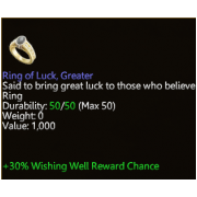Ring of Luck, Greater
