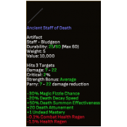 Ancient Staff of Death