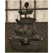 Large spooky fountain