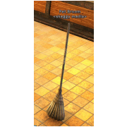 RARE Broom decoration pet