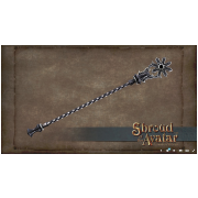 RARE Dark Starr Staff