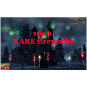 1000 RARE collectible fireworks
