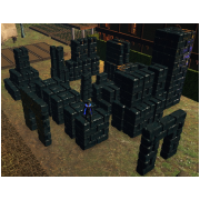 Mega Black ICE Building Block SET