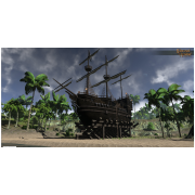 Dry Docked Pirate Galleon (city Home)